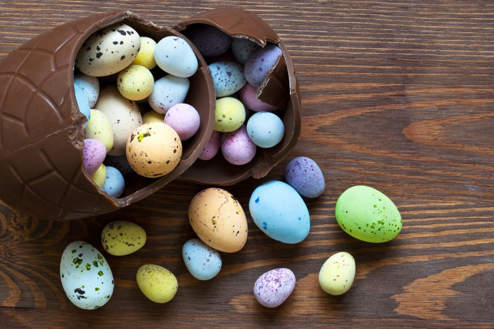 British Chocolate Maker Includes Easter Story With Treats